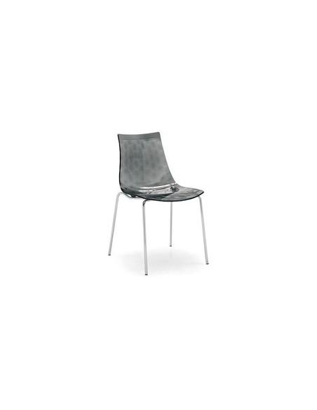 Chaise de couleur et matière plastique Ice CB1038