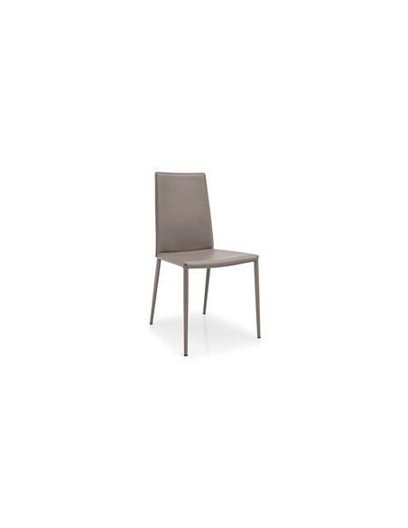 Chaise en métal et assise du même coloris Boheme CB1257