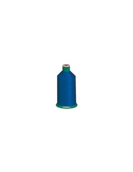 Fil à coudre SERAFIL 20 bleu - Cône de 2500m