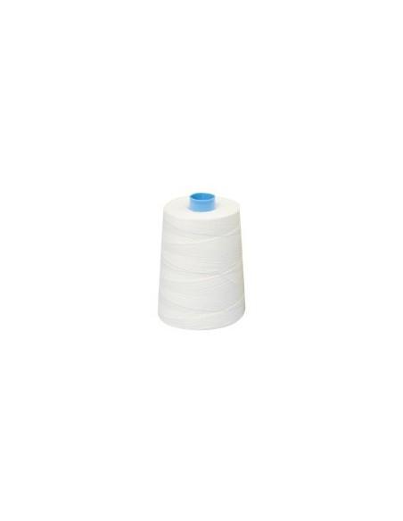 Fil à coudre hydrophobe 25 blanc - Cône de 2000m
