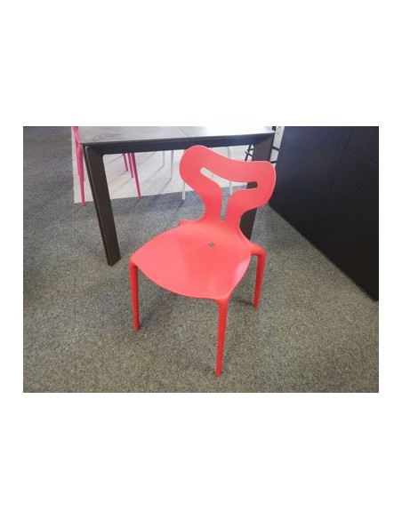 Déstockage Chaise Area 51 CB1042 P946 rouge opaque