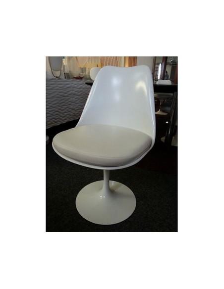 Déstockage Chaise Tulip Saarinen blanche