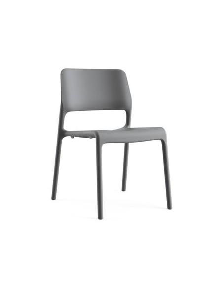 Déstockage Chaise Spark Side gris foncé