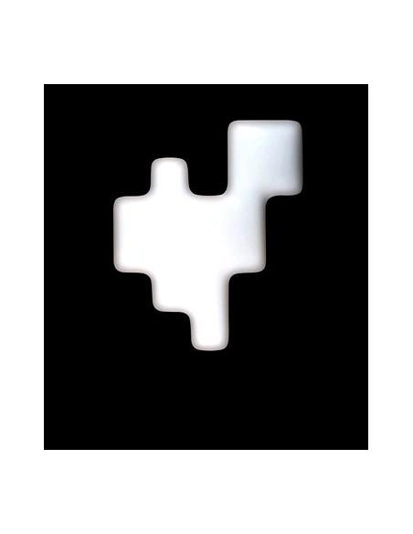 Déstockage Applique murale et plafonnier Pixel blanc