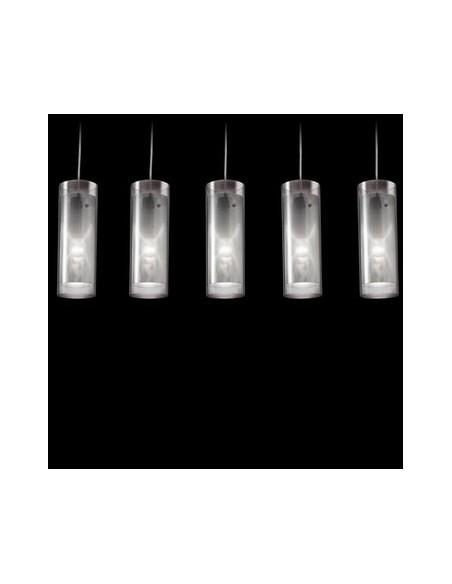 Déstockage Lampe à suspension Pipe transparent