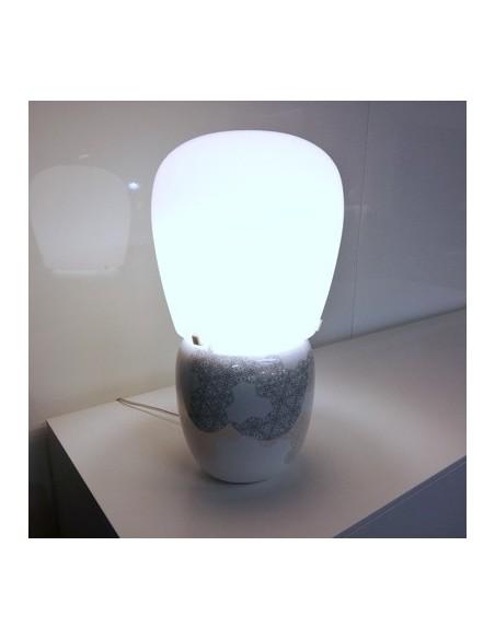 Déstockage Lampe de table Hive blanche