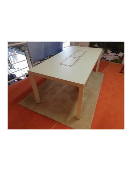 Déstockage Table de jardin Tallios coloris perle