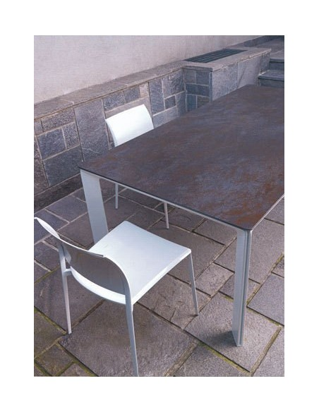 Table fixe céramique 580 Class 120x80 h 74 cm dexo