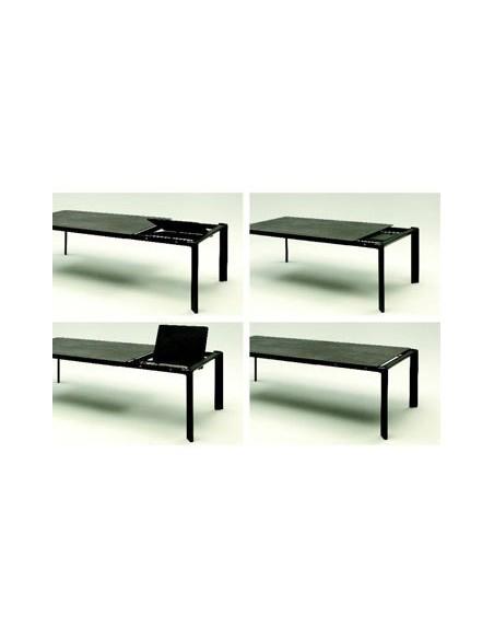 Table extensible céramique 597 Class 200(260)x100 h 74 cm dexo