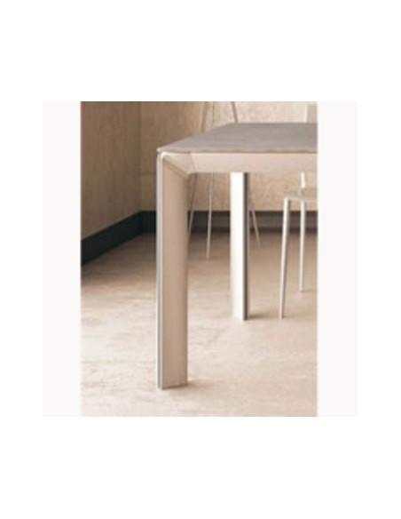 Table extensible céramique 600 Class 140(200)x140 h 74 cm dexo