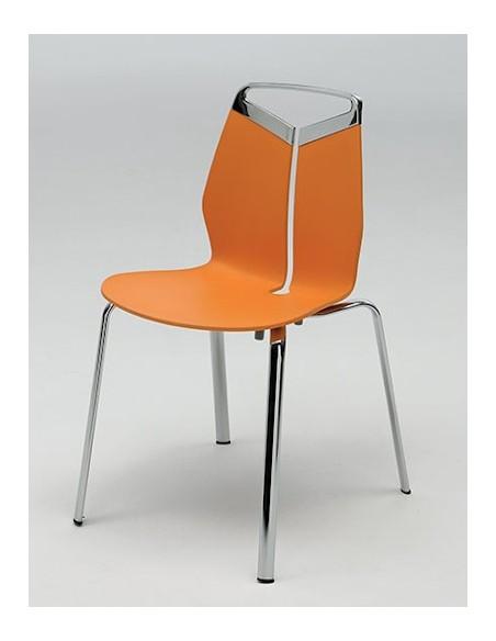 Chaise GRIPP pieds ovalisés réf. 226