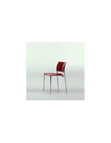 Chaise Mind rouge Dexo