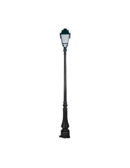 Lampadaire Dervois et lanterne Beauregard D Noir
