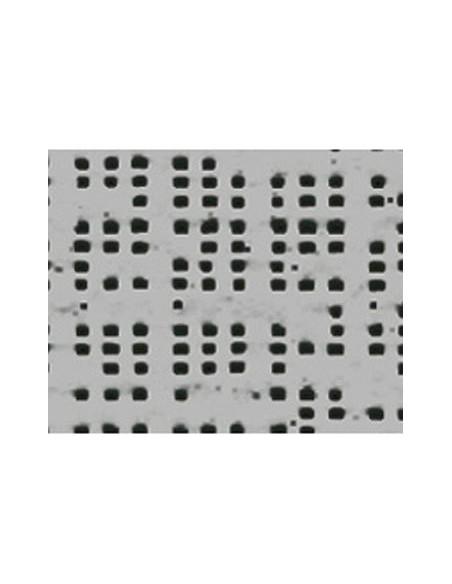 Textile micro-aéré pour protection solaire Soltis 92 aluminium M1