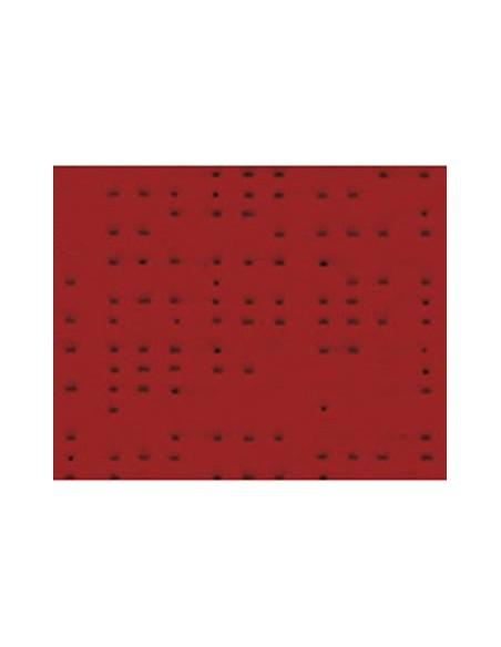 Textile micro-aéré pour protection solaire Soltis 92 rouge velours M1