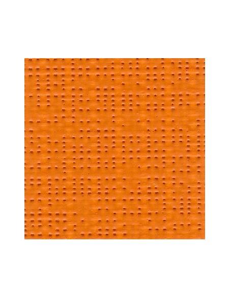 Textile micro-aéré pour protection solaire Soltis 92 orange M1