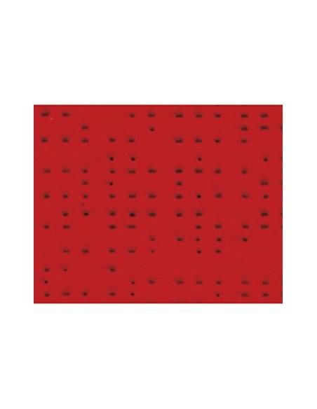 Textile micro-aéré pour protection solaire Soltis 92 rouge M1