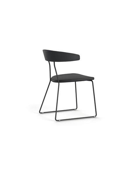 Chaise Flack noire