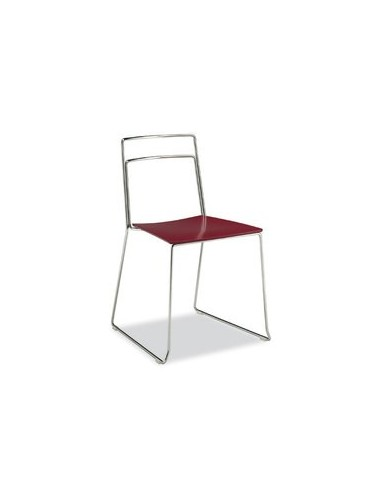 Chaise Java rouge