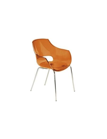 Chaise Light orange