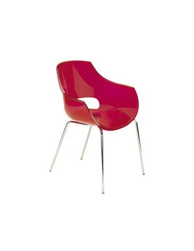 Chaise Light rouge