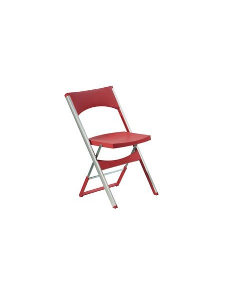 Chaise Luca rouge