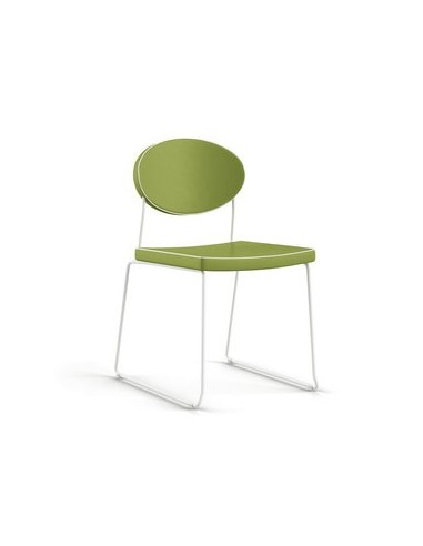 Chaise Pop-up lime