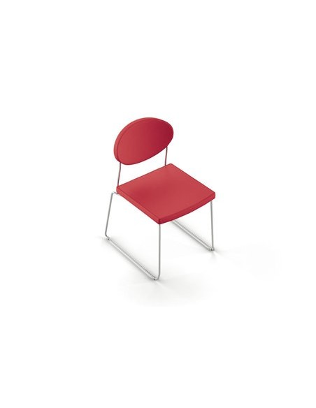 Chaise Pop-up rouge
