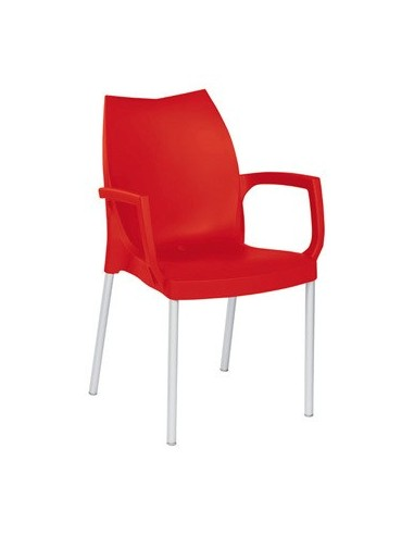Chaise Tina SO rouge