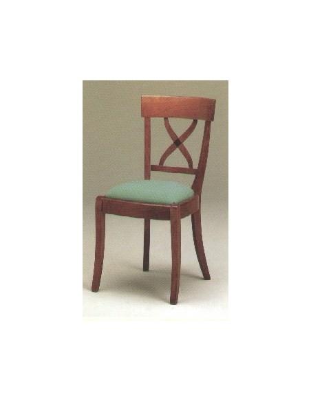 Chaise style directoire a croisillon, Jean Gestas