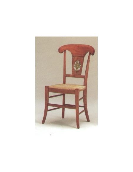 Chaise epi de ble style directoire, Jean Gestas