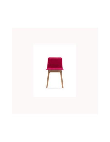 Chaise de table Laia dossier bas
