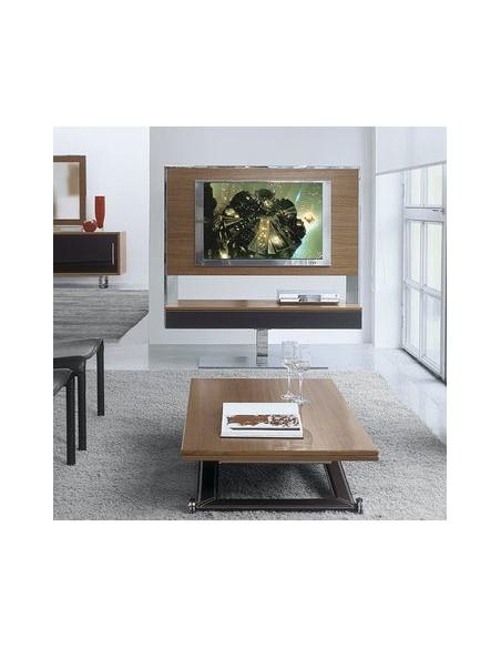 Meuble TV Tecno 140 noyer canaletto antonello italia