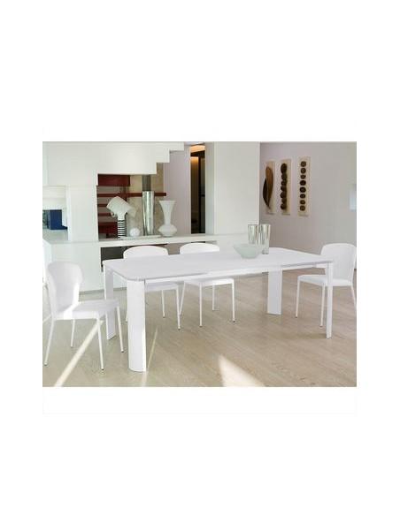 Table extensible Arthur blanche