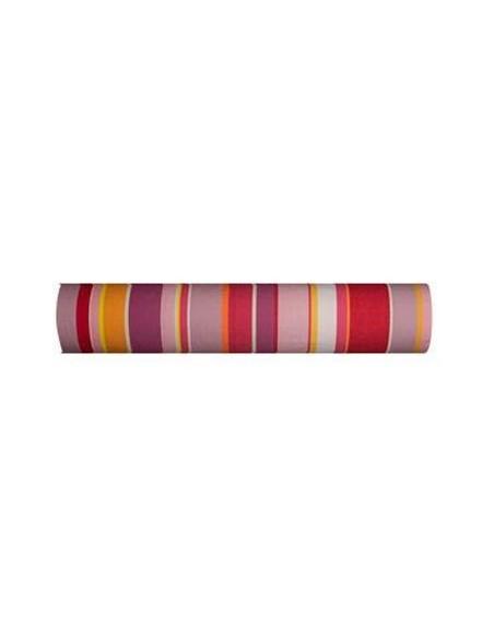 Zinnia Sunbrella rouge/blanc 175 cm Toiles du Soleil
