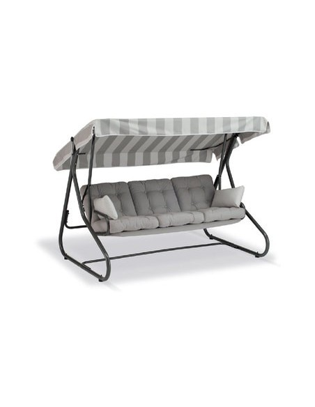 Balancelle Maxibed structure blanc Vlaemynck Collection 2018