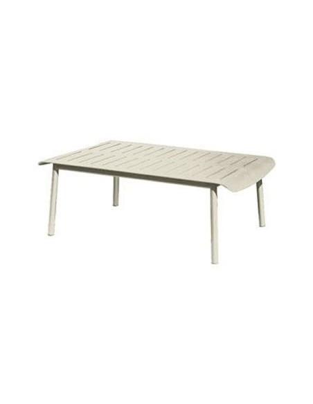 Table basse Madison 110 x 70 cm, structure blanc