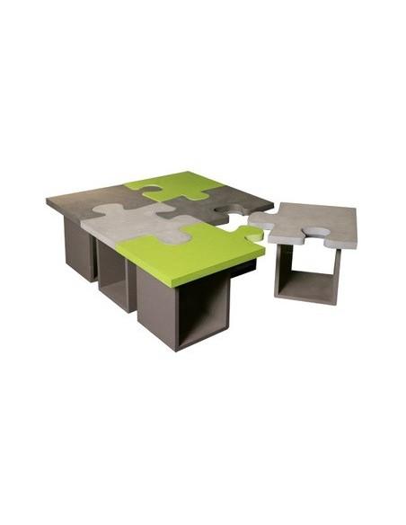 Table basse Puzzle béton réf. 994