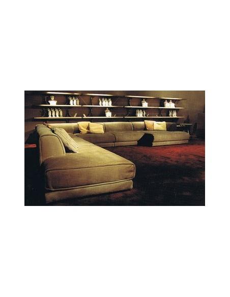 Canapé d'angle 6 à 8 places Rafael