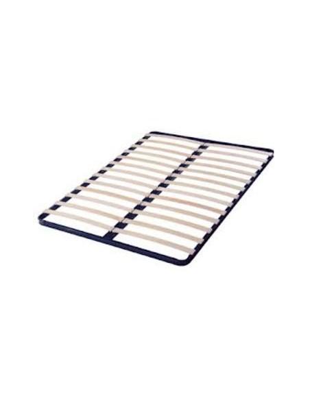 Sommier 140 x 190 cm, cadre 13 lattes Confort