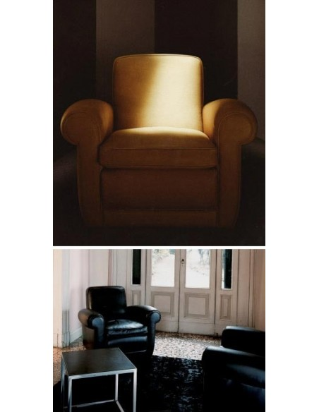 Fauteuil mickey, Baxter