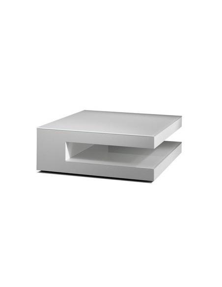 Table basse carrée double plateaux Karat