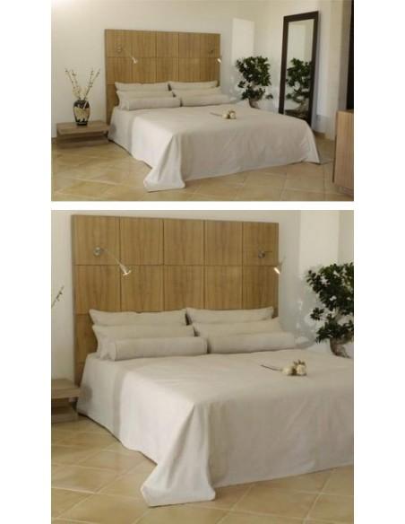 Tête de lit paved, Patines Anciennes