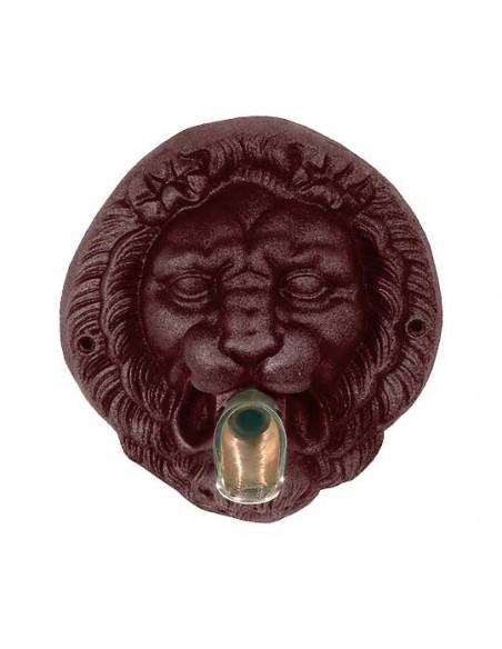 Mascaron tête de lion + bec verseur