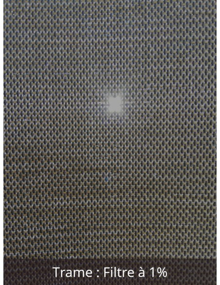 Toile Protection solaire intérieure SOLTIS TOUCH M1 1% largeur 180 cm