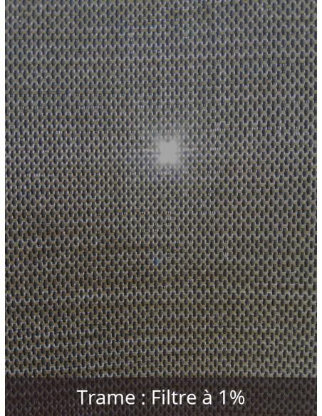 Toile Protection solaire intérieure SOLTIS TOUCH M1 1% largeur 270 cm
