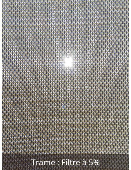 Toile Protection solaire intérieure SOLTIS TOUCH M1 5% largeur 270 cm