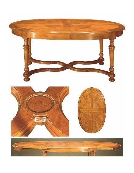 Table ovale fontainebleau