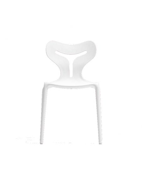 Chaise empilable en polypropylène Area51 CB1042