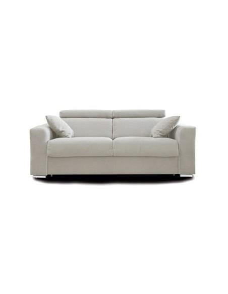 Canapé fixe 2,5 places Mova avec recouvrement microfibre Like Suede